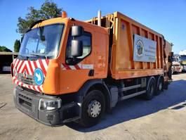vuilniswagen vrachtwagen Renault P 320 Dxi 6X2 + FAUN Wastecollector / Müllwagen / Benne Ordures 2008