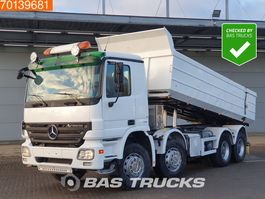 kipper vrachtwagen > 7.5 t Mercedes-Benz Actros 4148 K 8X4 Big-Axle Steelsuspension Euro 4 2008