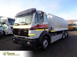 tankwagen vrachtwagen Mercedes-Benz 2531L + MANUAL + 18.500 L + 3 COMP + PTO 1996
