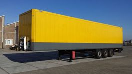 gesloten opbouw oplegger Krone Dry liner / kleding 2010