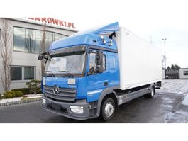 bakwagen vrachtwagen Mercedes-Benz Atego 1224 , E6 , 4x2 , retarder , 18 EPAL , Glob cab , tail lif 2016