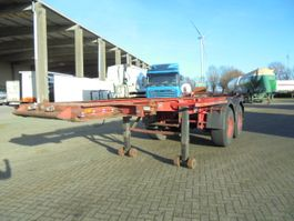 container chassis oplegger Burg BPO 12-18 C BLADGEVEERD 1989