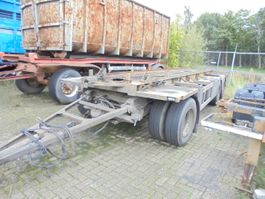 container chassis aanhanger Burg BPA 10-18 ACXXX 2002