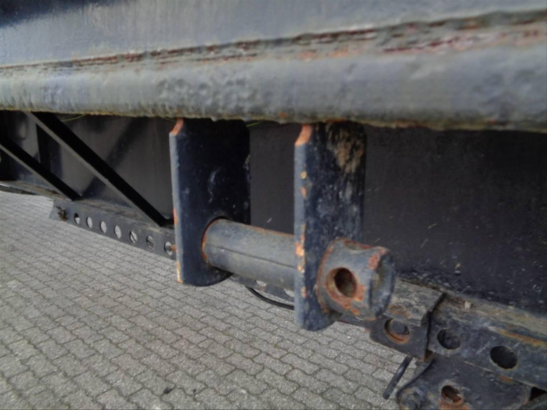 semi dieplader oplegger Fontaine VELOCITY 24.5 MTR 2009