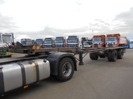 container chassis oplegger Fruehauf H-F 2W-40-2CL 1970