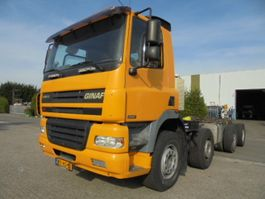 chassis cabine vrachtwagen Ginaf 4241 S 8X4 2006