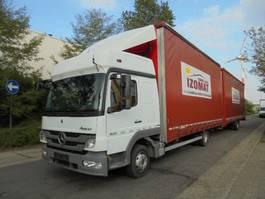 mega-volume vrachtwagen Mercedes-Benz Atego 822 L 2013