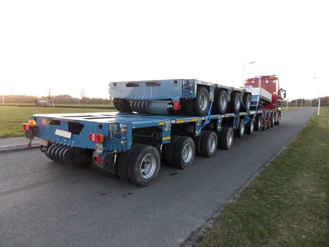 semi dieplader oplegger Goldhofer THP/SL 17 Lines 2018