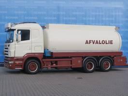 kolkenzuiger vrachtwagen Scania EXPORT ONLY | R380 LB 6X2*4 HNA | OIL DISPOSAL | ABFALLÖL-LKW | DIFF | EXPORT ONLY 2006