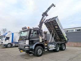 kipper vrachtwagen > 7.5 t Ginaf X 3335 3335S 6X6/4 Euro5 - 3 WayTipper - Crane MKG 161 - Rotator (V331) 2007