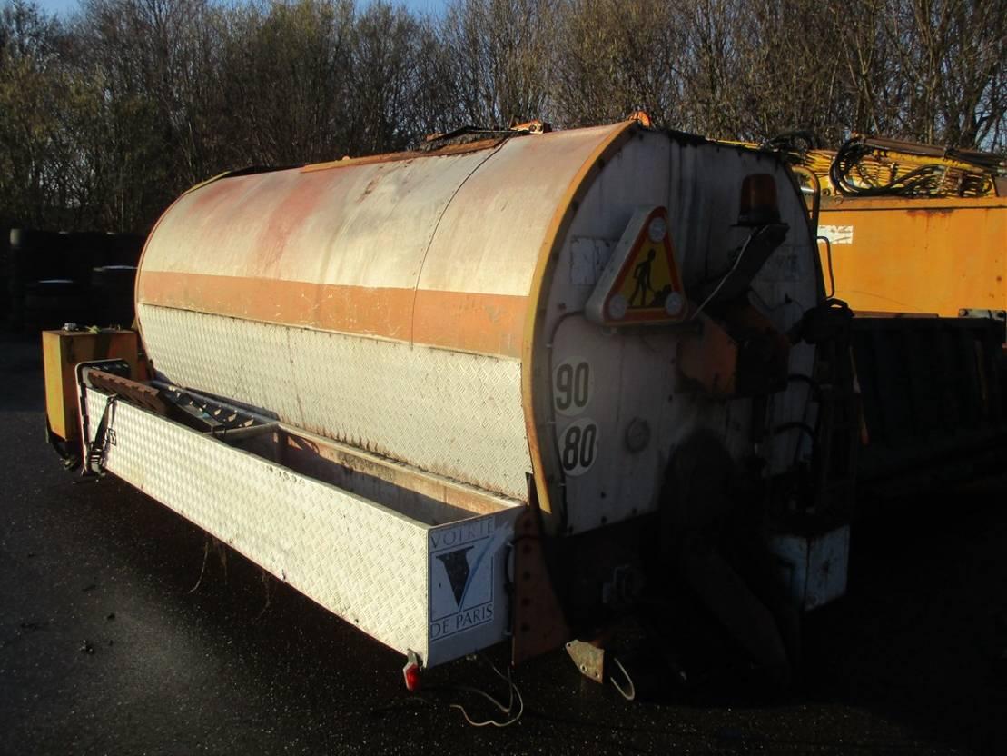 Opbouw vrachtwagen onderdeel Diversen A.C.C. TMA 12 Bitumen Tank incl. 2 Cylinder Hatz Diesel 1993