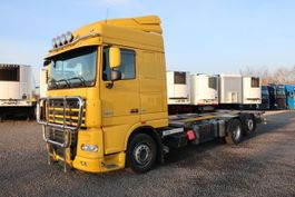 wissellaadbaksysteem vrachtwagen DAF XF 105.510 SC Mediliner Hubrahmen mech. Schaltung 2012