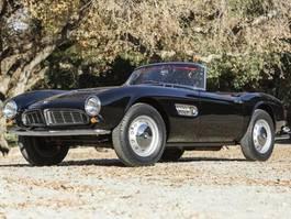 overige personenwagens BMW 507 Series II Roadster Nr.205 von nur 253 Exemplaren 507 Series II Roadster 1959