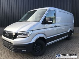 gesloten bestelwagen MAN TGE 3.140 AUT8 FWD SW Gesloten bestelwagen 2021
