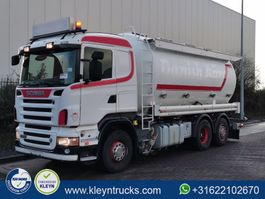 silo vrachtwagen Scania R500 6x2 animal food 2008