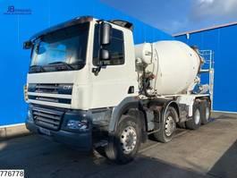 betonmixer vrachtwagen DAF CF 85 360 8x4, Liebherr, Steel suspension 2007