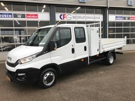 kipper bedrijfswagen Iveco Daily 35C14D dubbele cabine kipper + materieelkast 1361 2018