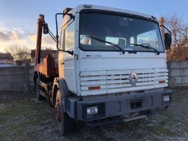 containersysteem vrachtwagen Renault G300 G 300 - mech.pump - full steelsuspension 1994