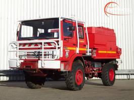 brandweerwagen vrachtwagen Renault 110 170 4x4 - 4.000 ltr watertank - feuerwehr - fire brigade - brandweer... 1991
