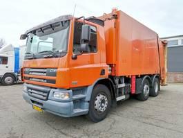 vuilniswagen vrachtwagen DAF CF 75.250 6x2/4 Dagcabine Euro 3 - Vuilniswagen Zoeller + Terberg Belading - Airco... 2005