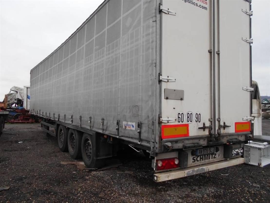 huifzeil aanhanger Schmitz Cargobull Non spécifié 2010