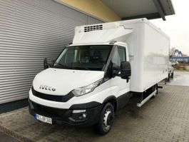 koelwagen bakwagen Iveco DAILY 70 C 18 Kühlkoffer 5m LBW 1to.THERMOKING 2016