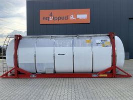 tankcontainer Van Hool 20FT, swapbody TC 30.160L, L4BN, IMO-4, 5y insp. until 05/2023 2000