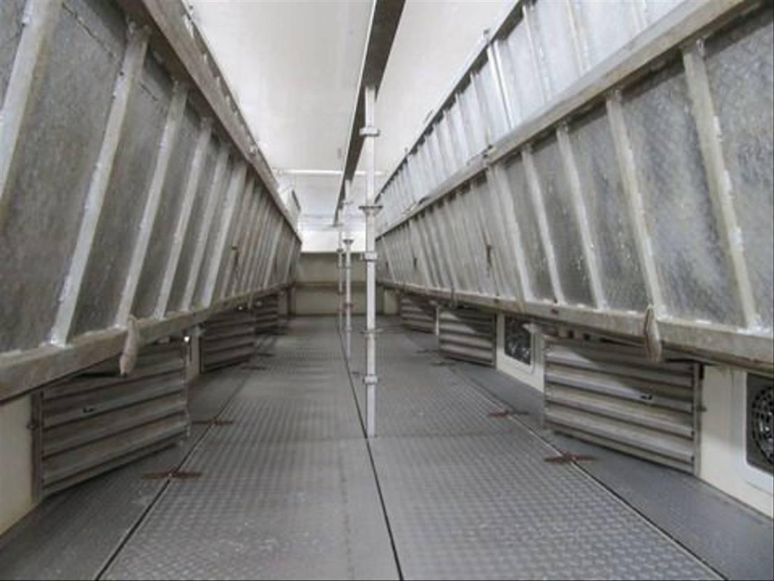 vee oplegger CUPPERS LVO 12-27 AL 5  Levels Livestock trailer 2014