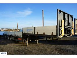 overige opleggers HRD 3 Axis Oil Express Jumbo semi-trailer. Repair obje 2009