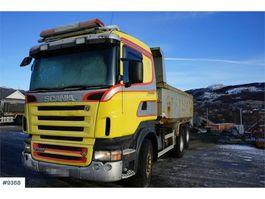 kipper vrachtwagen > 7.5 t Scania R580 6x2 Tipper truck. Manual transmission WATCH V 2005