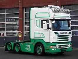 standaard trekker Scania R730 6x2 Topline - Fullr air - Retarder - Custom interior - Night clima 2011