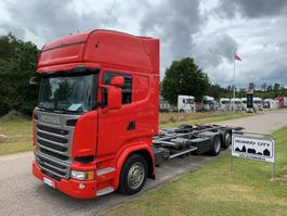 wissellaadbaksysteem vrachtwagen Scania R410 LB 6x2 MLB 2015
