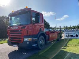 containersysteem vrachtwagen Scania P400 LB 6x2 HNB 2012