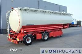 silo oplegger Heitling SDBH 51 SILO   8 COMP 51 M³ * STEERING AXLE * FOOD * APK 01-2022 2012