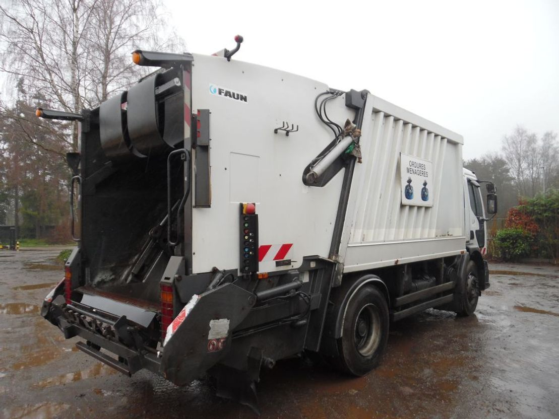 vuilniswagen vrachtwagen Renault Premium 270 vuilkar 2003