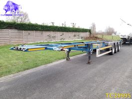 container chassis oplegger LAG 40-45 Container Transport 2012