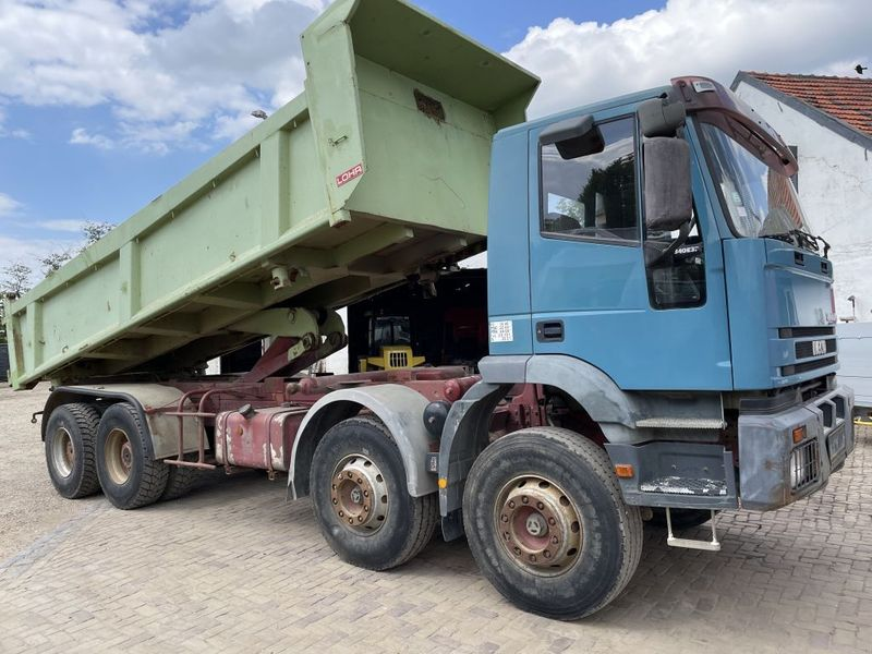 Iveco - 340E37 8x4 heavy duty two way tipper 1