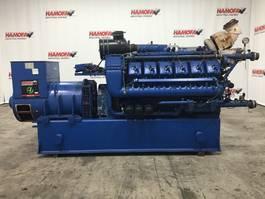 generator Deutz MWM CBG620V12 GENERATOR 738 KVA USED 1995