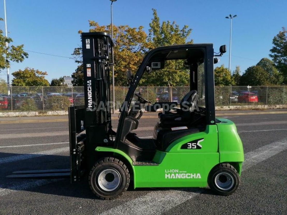 vorkheftruck Hangcha XC35 LI-ION 2021