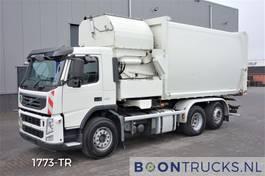 vuilniswagen vrachtwagen Volvo FM 330 6X2 HN-SCHÖRLING SL-VK-F | SEITENLADER MÜLLWAGEN * HEBACHSE 2012