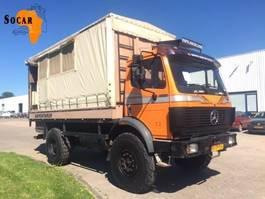 huifzeil vrachtwagen Mercedes-Benz 1722 SK 4x4 Expeditie - Truck / overlander / camper / motorhome / mobilhome 1992