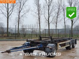 container chassis aanhanger GS Meppel AC 2800 R 3 axles 1997
