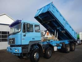 kipper vrachtwagen > 7.5 t MAN 35-4148X8 KIPPER 1998