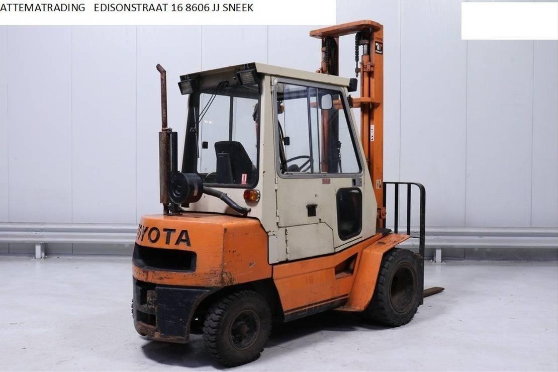 vorkheftruck Toyota 02-3 FD -30 1982