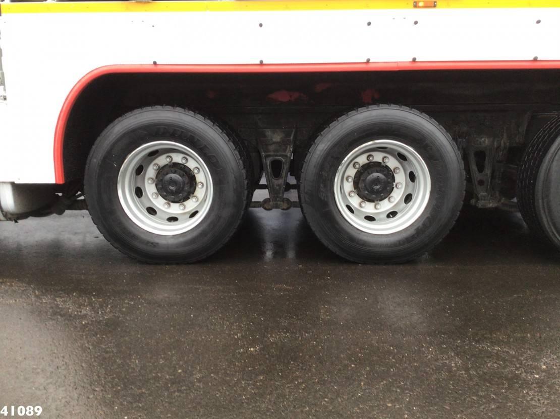 autohoogwerker vrachtwagen MAN TGS 35 8x4 Euro 5 Bronto Skylift 52 meter hoogwerker Slechts 46.822 km! 2011