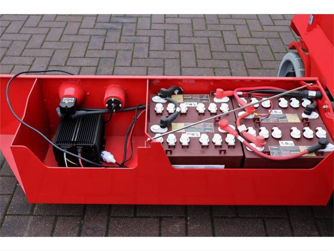 schaarhoogwerker wiel Magni ES1612E Valid inspection, *Guarantee!, Electric, 1 2018