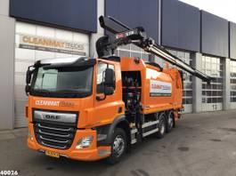 vuilniswagen vrachtwagen DAF CF 340 FAN Hiab 21 ton/meter laadkraan 2020