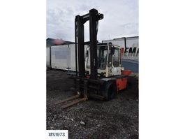 vorkheftruck Kalmar DB6 - 600 Forklift 1988