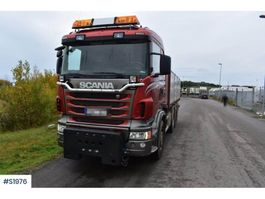 kipper vrachtwagen > 7.5 t Scania R480 8x4 Tipp Truck Plow Equipped 2012