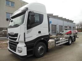 wissellaadbaksysteem vrachtwagen Iveco Stralis AS 260S48, 6x2, BDF, 480 PS, Intarder 2017